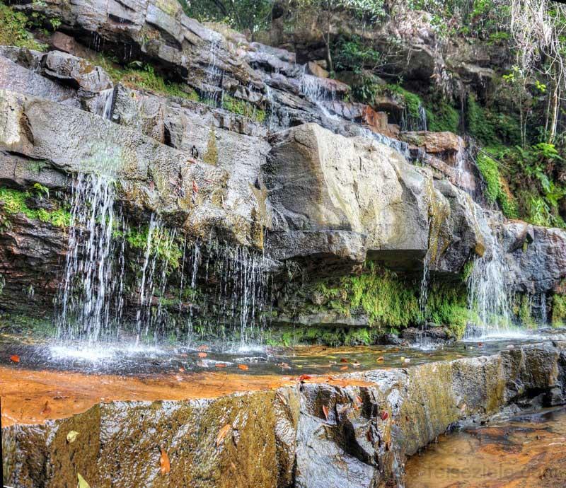 Wasserfall, Nationalpark Malaysia