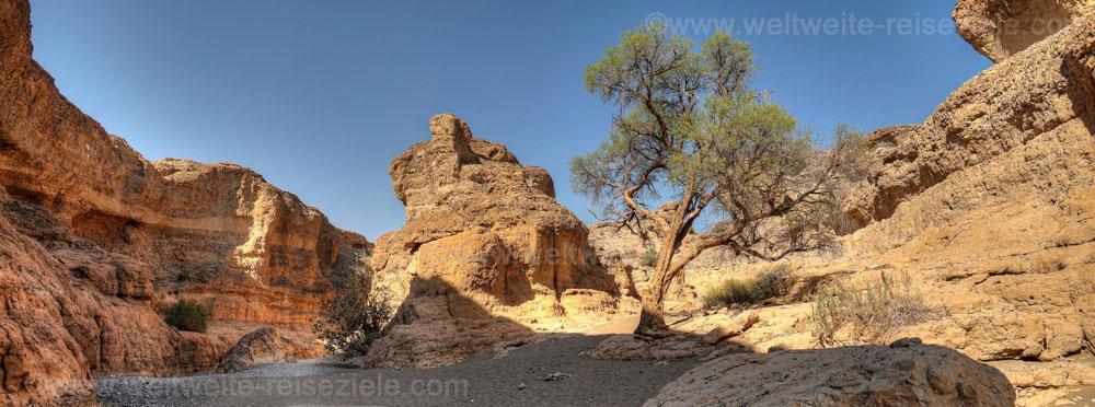 Unten im Canyon von Sesriem