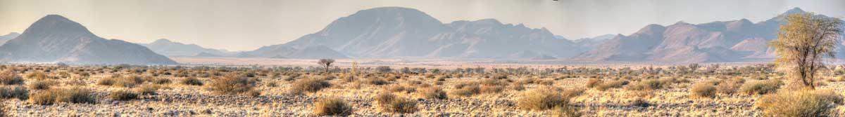 Ausblick, Landschaft vor der A little Sossus Lodge, Namibia