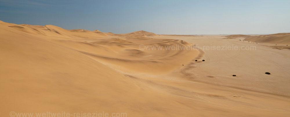 Sanddünen südlich Swakopmund