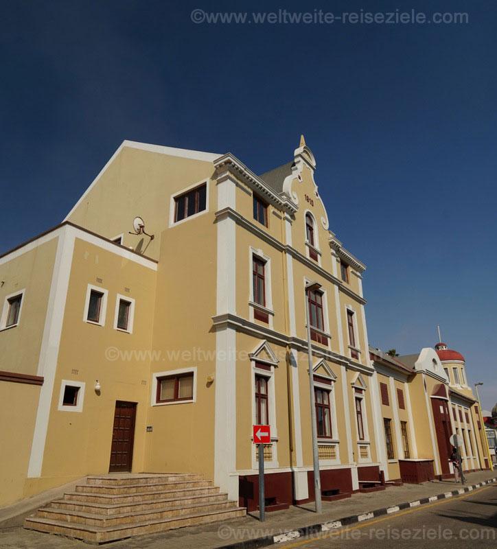 Gebäude von 1916 in Swakopmund