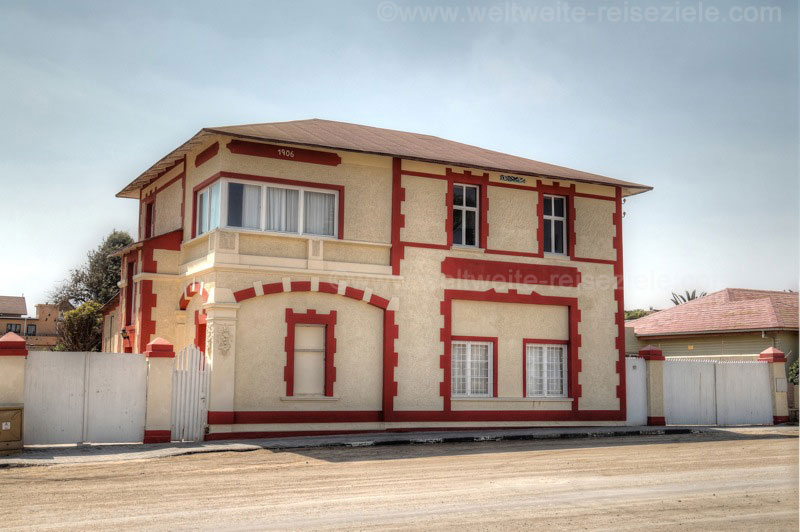 Haus von 1904 in Swakopmund