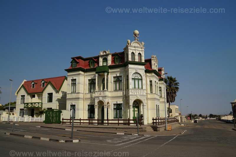 Altes typisches Haus, Swakopmund