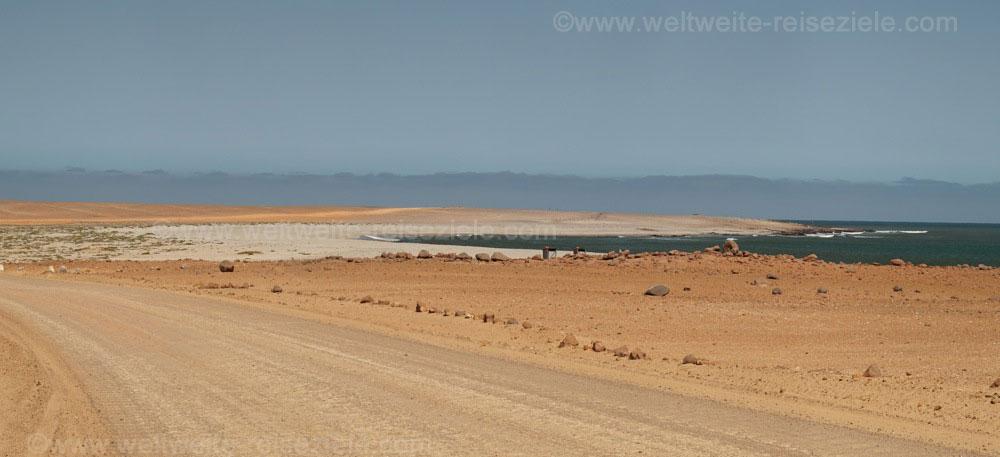 Bucht im Norden vom Kreuzkap, Namibia