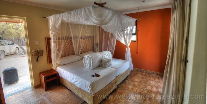Doppelzimmer Halali Camp, Etosha