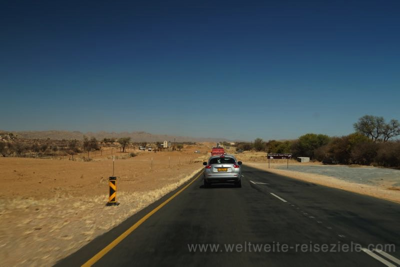 Strasse von Okahandja nach Windhoek, Namibia
