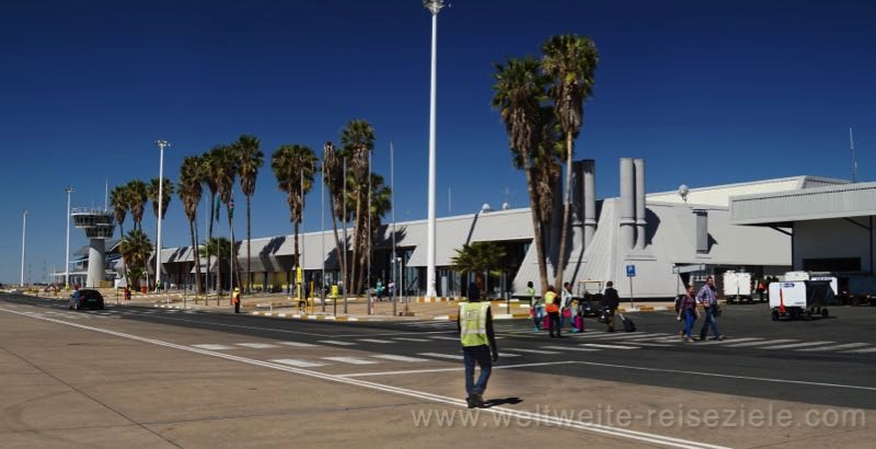 Vorfeld, Flughafen Windhoek