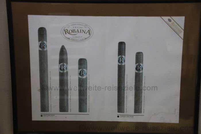 Zigarren von Robaina, Kuba