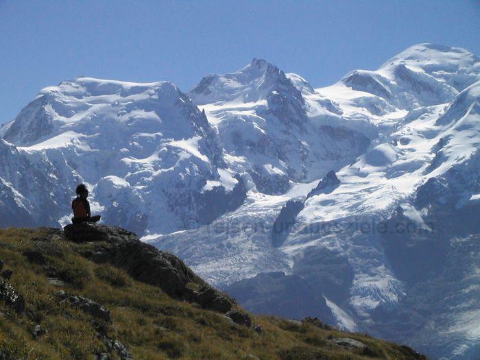 Der Mont Blanc ist eines der wichtigsten Reiseziele in Frankreich