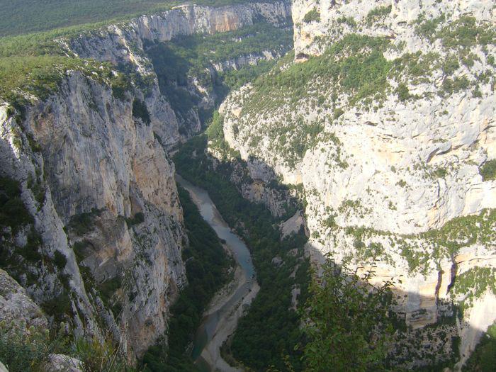 Eines der bekanntesten Ferienziel in Frankreich ist der Grand Canyon du Verdon