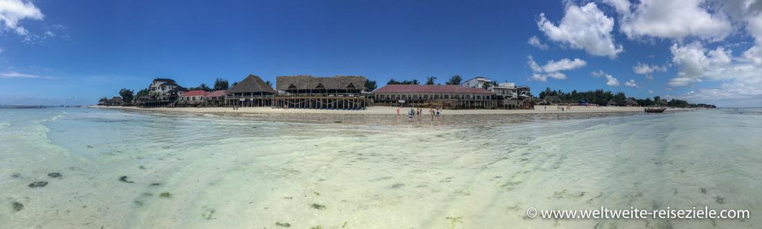 Hotels am Strand von Nungwi