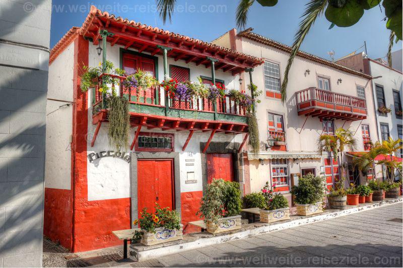 Strasse der Balkone, Santa Cruz de La Palma