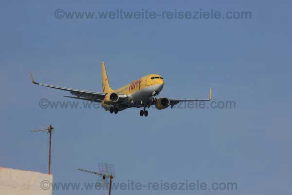 Verkehrsmittel Flugzeug